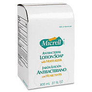 Micrell Antibacterial Lotion Dispenser Refill, 800mL, Carton Of 12