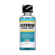 Listerine; Cool Mint; Antiseptic Mouthwash, 3.2 Oz.