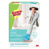 Scotch-Brite™ Disposable Toilet Bowl Brush Kit