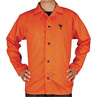 30 inch; 9 OZ ORANGE FR JACKET SIZE X-LARGE