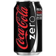 Coca-Cola; Zero, 12 Oz., Case Of 24