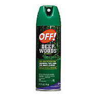 OFF! Deep Woods Unscented Aerosol Insect Repellent, 6 Oz, Aerosol
