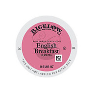 Bigelow English Breakfast Tea K-Cup; Pods, 0.31 Oz, Case Of 96