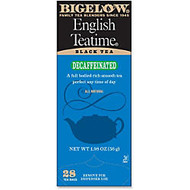Bigelow English Tea Time Decaffeinated Tea Bags, Box Of 28