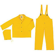 CLASSIC .35MM PVC/POLYESTER SUIT 3 PC YELLOW