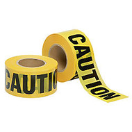 SKILCRAFT; Non-Adhesive Barricade Tape, Caution Do Not Enter, 3 inch; x 1000', Black/Yellow (AbilityOne 9905-01-613-4244)