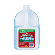 Arrowhead; Distilled Water, 128 Oz Bottles, Case Of 6