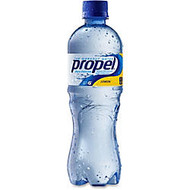 Propel Bottled Drink Beverage - Lemon Flavor - 16.90 fl oz - Bottle - 24 / Carton