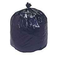30% Recycled Trash Can Liners, Heavy Duty, 33 inch; x 40 inch;, 33 Gallon, Carton Of 100 (AbilityOne 8105-01-386-2323)