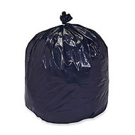 30% Recycled Trash Can Liners, Heavy Duty, 38 inch; x 60 inch;, 55-60 Gallon, Carton Of 100 (AbilityOne 8105-01-386-2399)