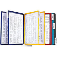 Durable Sherpa Panel Bracket Reference System - 10 Panels - Letter Size - 1 Each - Assorted