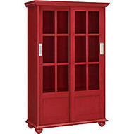 Ameriwood™ Altra Aaron Lane 4-Shelf Bookcase, 51 inch;H x 32 inch;W x 13 inch;D, Red