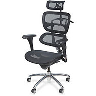 Balt Butterfly Chair - 5-star Base - Chrome Black - 28 inch; Width x 24 inch; Depth x 51 inch; Height