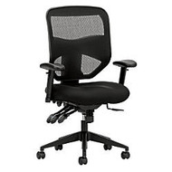 basyx by HON; Fabric High-Back Chair, Black