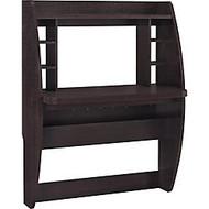 Ameriwood™ Altra Jace Wall-Mount MDF Desk, 54 inch;H x 42 inch;W x 20 inch;D, Espresso