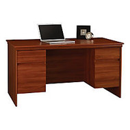 Ameriwood™ Westmont Collection Executive Desk, 29 1/2 inch;H x 59 inch;W x 30 3/8 inch;D, Expert Plum