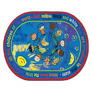 Flagship Carpets Printed Rug, 10'H x 13'W, All The Little Children