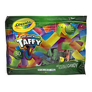 Crayola; Color Your Mouth Taffy, 5.65 Oz, Pack Of 12 Bags