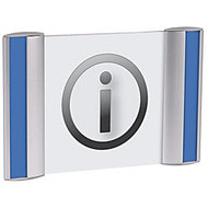 ALBA Document Holder For Walls And Doors, 4 1/8 inch;H x 6 1/4 inch;W
