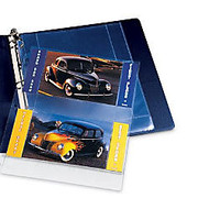 Avery 13401 Mixed Format Photo Page - 4 inch; Width x 6 inch; Length - 3-ring Binding - 3-Hole Punched