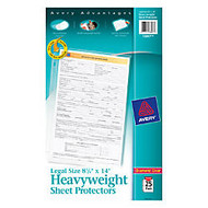 Avery Top-Load Heavyweight Legal-Size Sheet Protectors