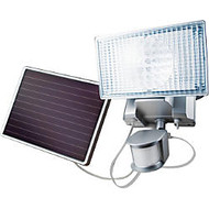 Maxsa Solar-Powered 100 LED Motion-Activated Outdoor Security Floodlight