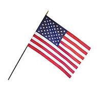 Annin and Company Empire Brand U.S. Classroom Flag, 12 inch; x 18 inch;, Grades Pre-K - 12