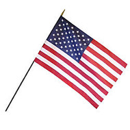 Annin and Company Empire Brand U.S. Classroom Flag, 24 inch; x 36 inch;, Grades Pre-K - 12
