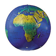 Replogle; Inflate-a-Globe, Topographical, 12 inch;