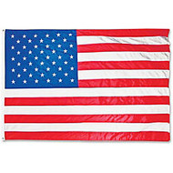 Adventus Corp Outdoor U.S.Nylon Flag, 4' x 6'