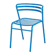Safco; CoGo™ Indoor/Outdoor Chair, Blue, Set Of 2