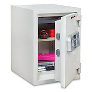 FireKing Fire Safe, 125 Lb, 0.97 Cu. Ft., White