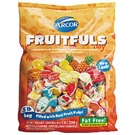 Assorted Fruit-Filled Candies, 5 Lb Bag
