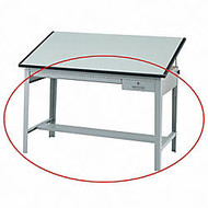 Safco; Precision Drafting Table Base, Gray