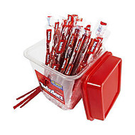 Twizzlers; Strawberry Licorice, 36.7 Oz Canister, 105 Pieces