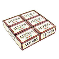 Altoids; Curiously Strong Mints, Cinnamon, 1.76 Oz, Pack Of 12 Tins