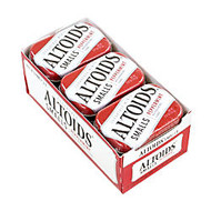 Altoids; Curiously Strong Mints, Sugar-Free Peppermint, 0.33 Oz, Pack Of 9 Tins
