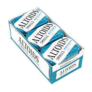 Altoids; Curiously Strong Mints, Sugar-Free Wintergreen, 0.33 Oz, Pack Of 9 Tins