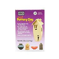 Amaco Moist Pottery Clay, 5 Lb, Gray