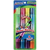 ArtSkills; Double-Sided Neon Markers, Assorted, Pack Of 4