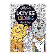 Bendon; Adult Coloring Book, Cats & Dogs