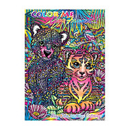Lisa Frank Adult Coloring Book, 7 3/4 inch; x 10 3/4 inch;