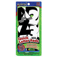ArtSkills; 100% Recycled Quick Letters, 2 inch;, Black, Pack Of 310