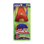ArtSkills; 100% Recycled Quick Letters, 4 inch;, Assorted Holographic Colors, Pack Of 108