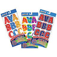 ArtSkills; Letter, Number & Punctuation Stickers, Retro Glitter, Assorted Colors, Pack Of 170+