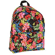 Caliware Cotton Backpack, Large Capacity, Floral Design