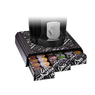 Mind Reader  inch;Anchor inch; Coffee Pod Triple Drawer For 36 K-Cup; Pods, Black