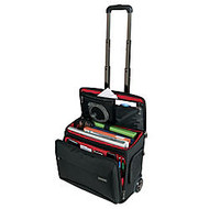 Ativa™ Mobil-IT Rolling Briefcase Ultimate Carry-On Workmate, 11.5 inch;H x 17.5 inch;W x 16.5 inch;D, Black