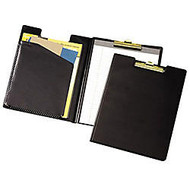 Cardinal Business Basics Clip Folder, 12 3/8 inch; x 9 1/2 inch;, Black
