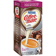 Coffee-Mate Salted Caramel Choc. Creamers - Salted Caramel Chocolate Flavor Mini Cup - 50/Box - 1 Serving